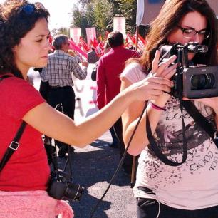 Violencia física contra mujeres periodistas, en aumento