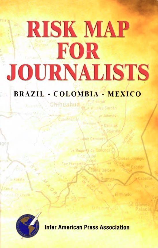 Mapa de riesgos para periodistas (Inglés)